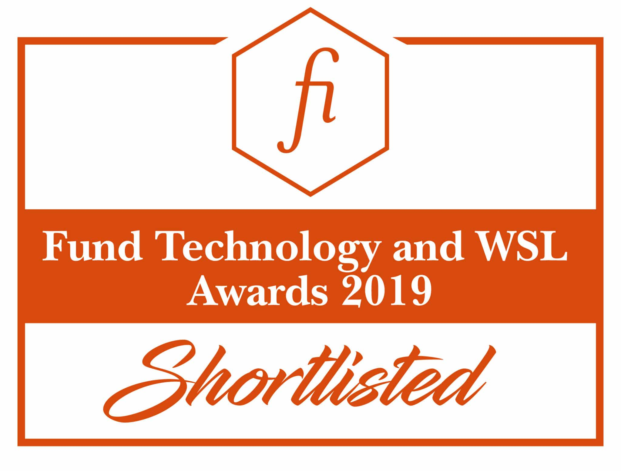 Fund Technology and WSL Awards 2019 - Shortlisted Logo
