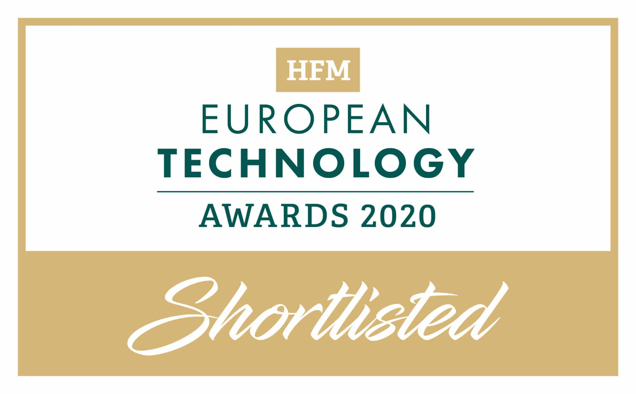 HFM EU Technology Awards 2020__Shortlisted